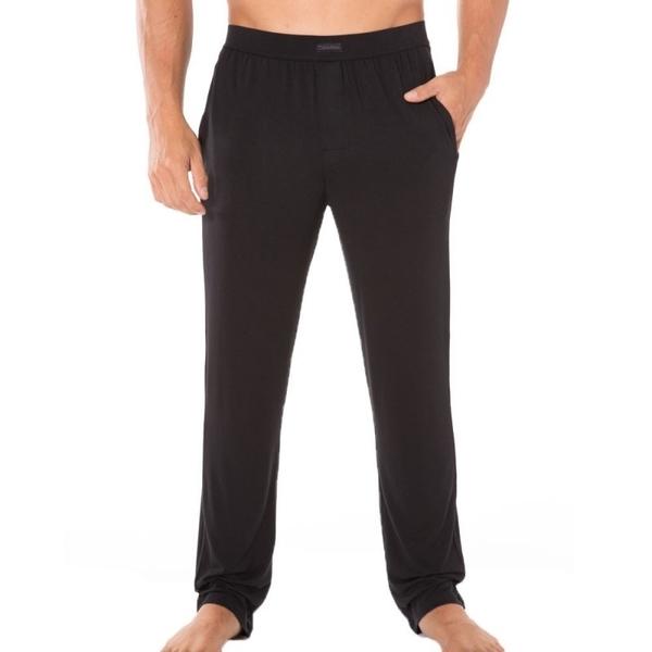 Calvin Klein Pánske Nohavice Na Doma Čierne, L - 1
