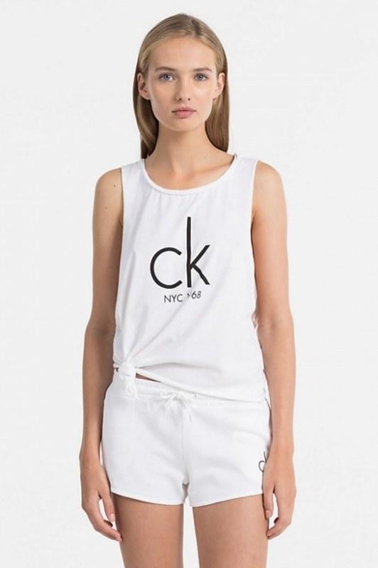 Calvin Klein Tielko NYC Biele, S - 1