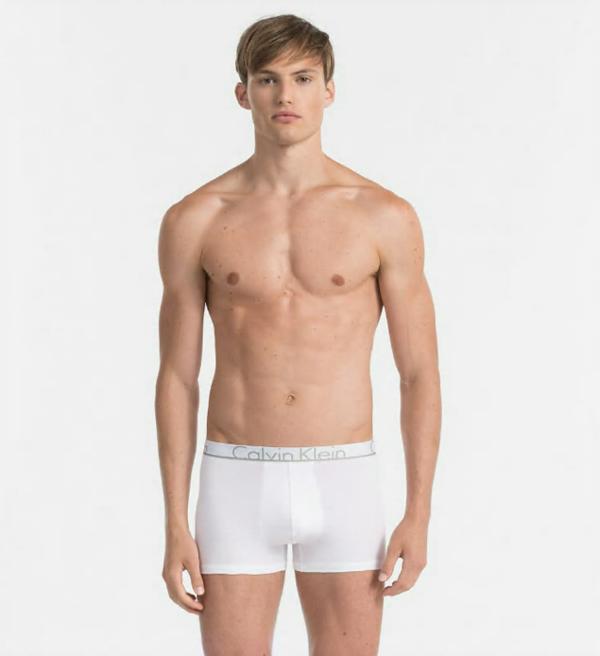 Calvin Klein Boxerky ID White, M - 1