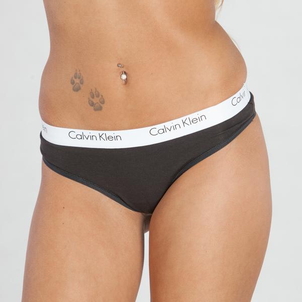 Calvin Klein Tangá CK One Čierne, XS - 1