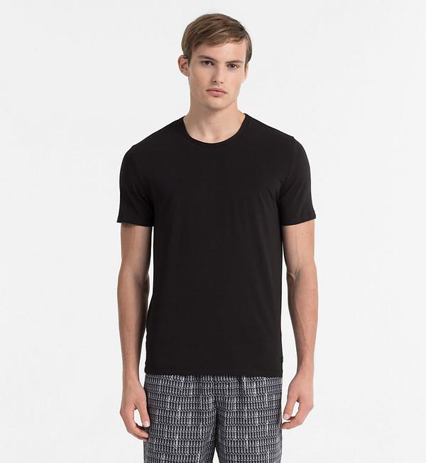 Calvin Klein Pánske Tričko CK Black, S - 1