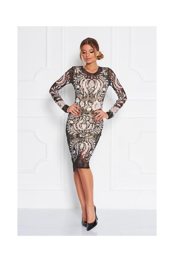Sugarbird Tess Lace Dress, S - 1