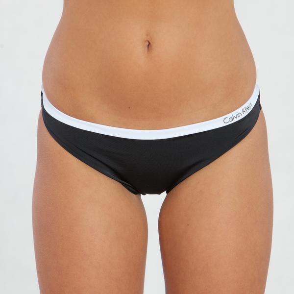 Calvin Klein Plavky Bandeau Čierne Spodný Diel, XS - 1