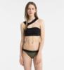Calvin Klein Plavky Open Cut Black Vrchní Diel, S - 1/3
