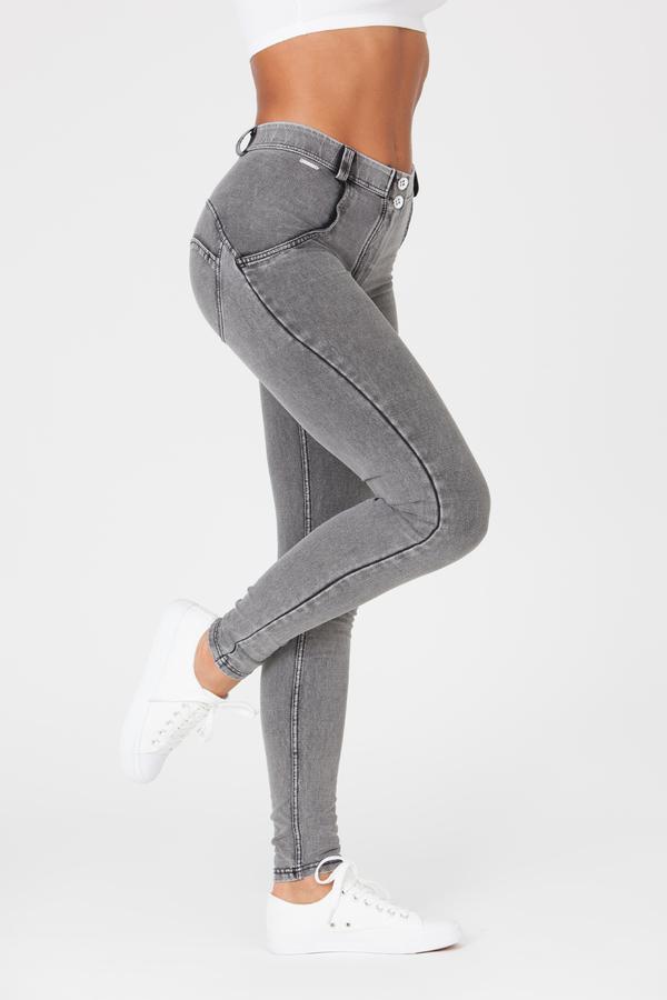 Boost Jeans Mid Waist Grey, XS - 1