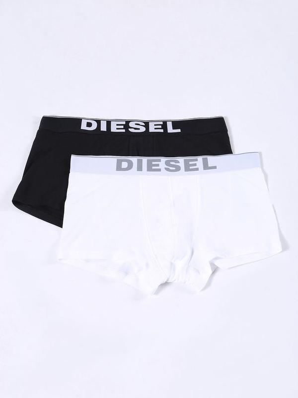 Diesel 2Pack Boxerky Čierne & Biele, XXL - 1