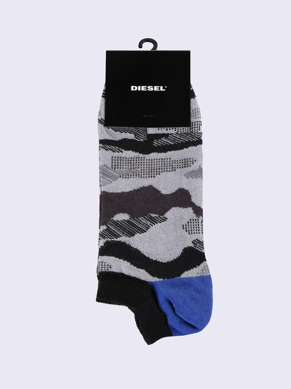 Diesel Ponožky Maskáčové Šedé, M - 1