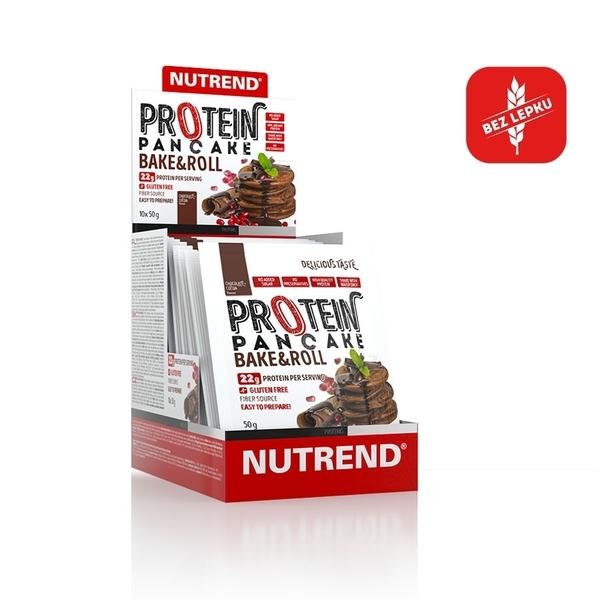Nutrend Proteínové Palacinky Čokoládové 1 Porcie - 1
