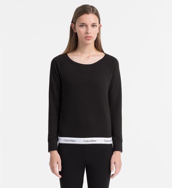 Calvin Klein Mikina Čierna, XL - 1