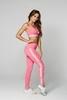 Gym Glamour Legíny High Waist Pink, S - 1/5