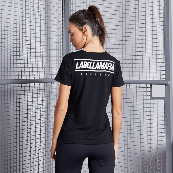 Labella Tričko Black Fitness, L - 1