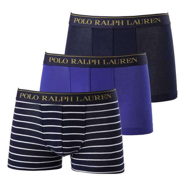 Ralph Lauren 3Pack Boxerky Blue, XXL - 1