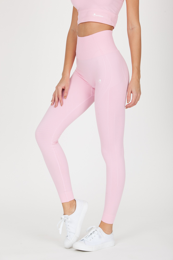 GoldBee Legíny BeSeamless Candy Pink, XL - 1
