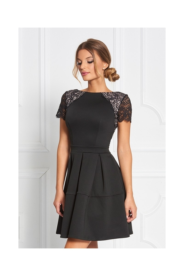 Sugarbird Dress Sarina Black, S - 1
