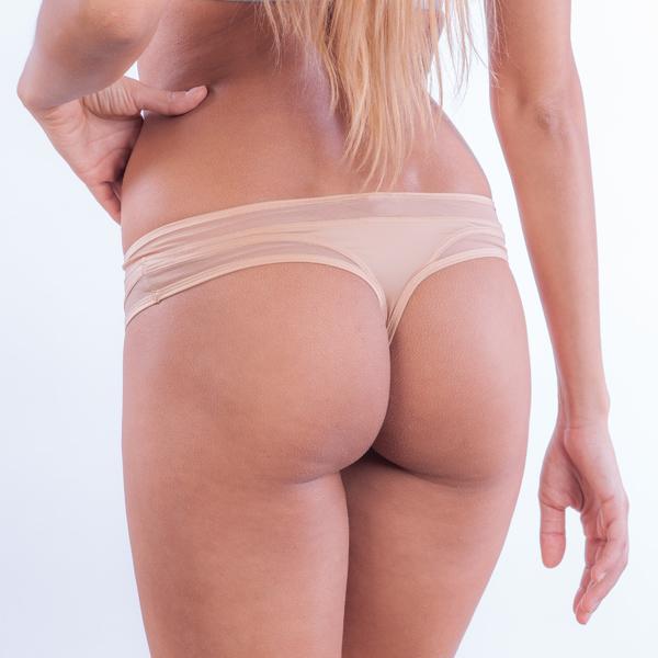 Calvin Klein Tangá Naked Touch Telové, M - 1