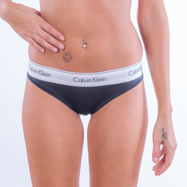 Calvin Klein Bikini - Modern Cotton Black, XL - 1