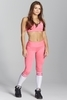 Gym Glamour Legíny Pink & White Socks, M - 1/7