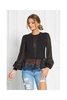 Sugarbird Bloor Shirt Black, XS - 1/5