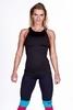 Nebbia Fitness Tielko 268 Čierne - 1/2