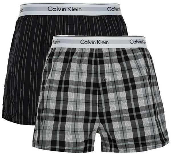 Calvin Klein 2 Pack Trenky Vzorované, XL