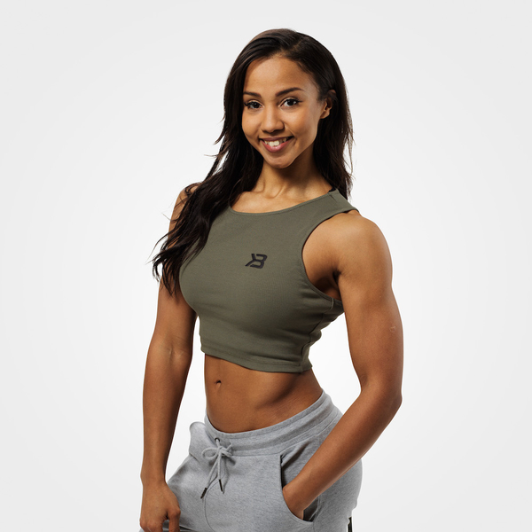 Better Bodies Crop-top Astoria Washed Green, L - 1