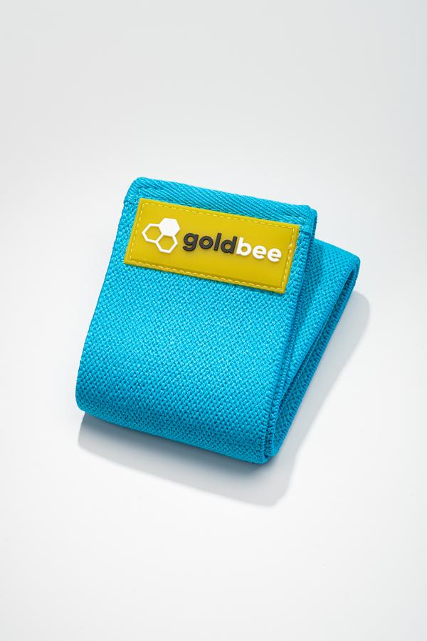 GoldBee Textilná Odporová Guma - Modrá, S - 1
