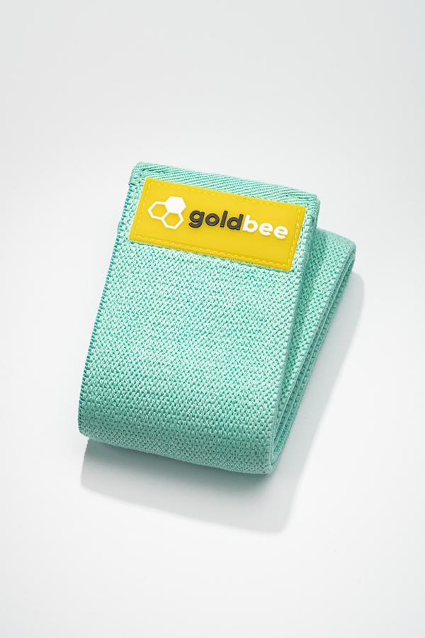 GoldBee Textilná Odporová Guma - Tyrkysová, M - 1