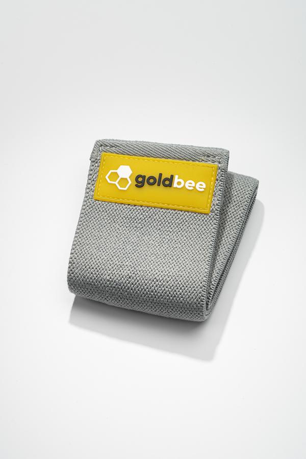GoldBee Textilná Odporová Guma - Tmavo Sivá, S - 1