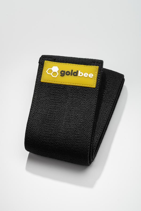 GoldBee Textilná Odporová Guma - Čierná, L - 1