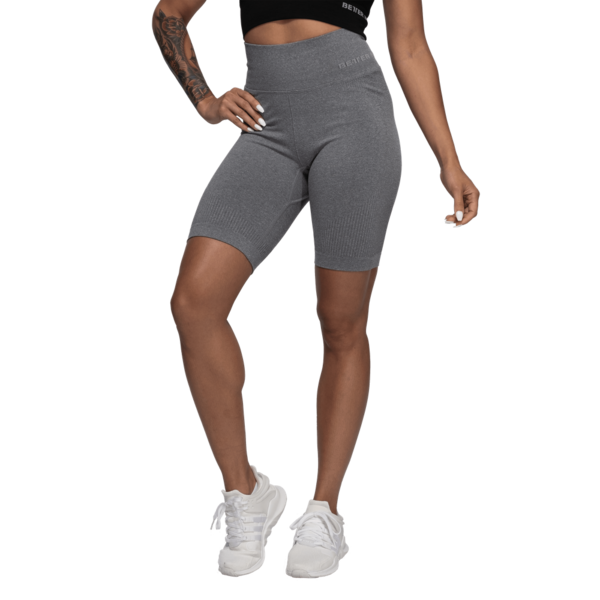 Better Bodies Kraťasky Rib Seamless Grey Melange, M - 1