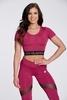 Crop-Top Gym Glamour Raspberry - 2/2