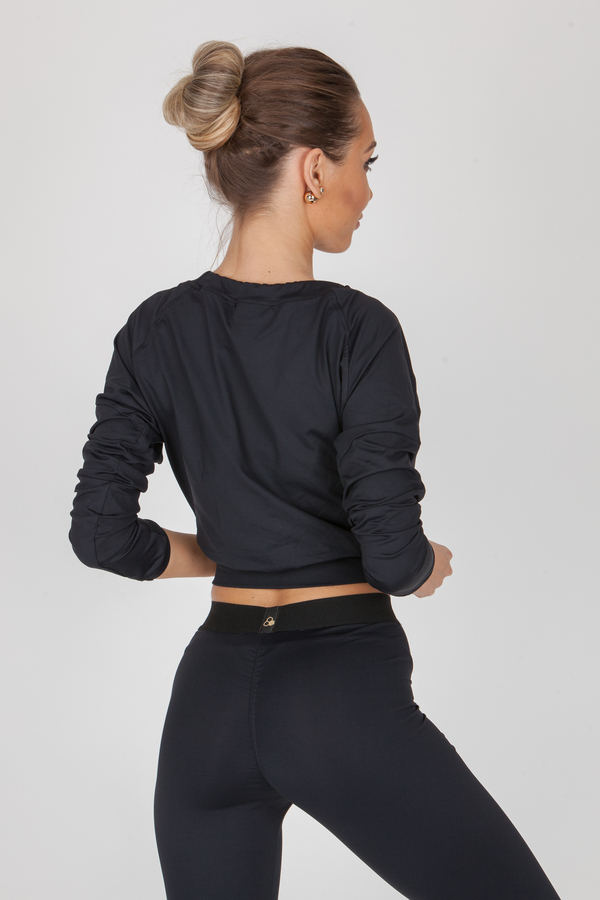 GoldBee Crop-Top BeCool Black, S - 2