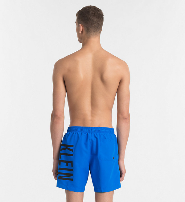 Calvin Klein Plavkové Šortky Intense Power Blue - 2