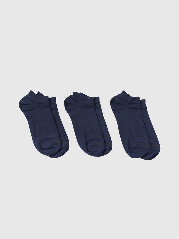 Diesel 3Pack Ponožky Modré - 2