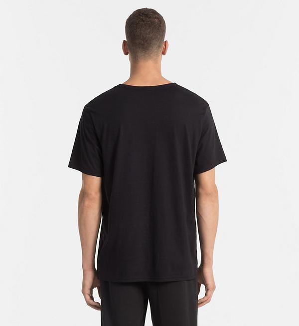 Calvin Klein Pánske Tričko Čierne - 2