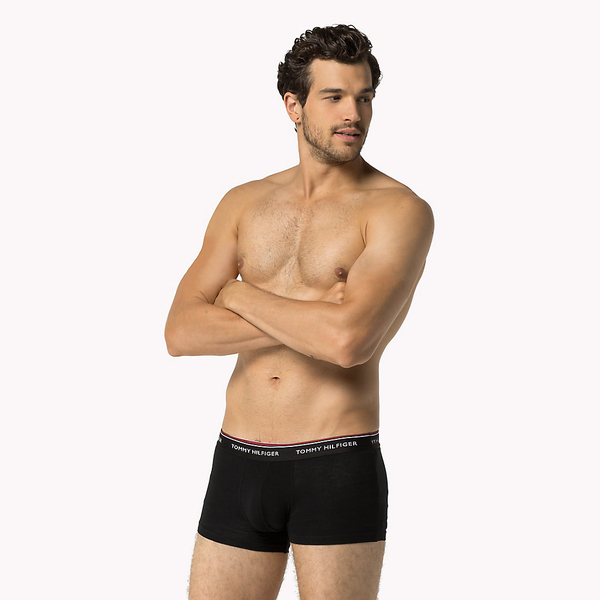 Tommy Hilfiger 3Pack Boxerky Black - 2