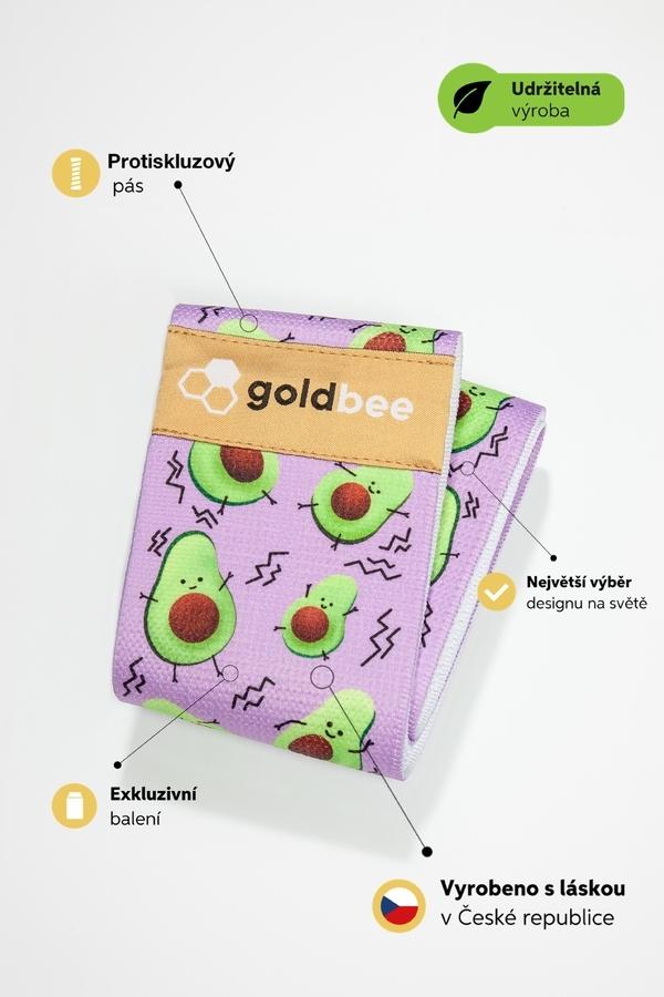 GoldBee Posilňovacia guma BeBooty Avofreak, L - 2