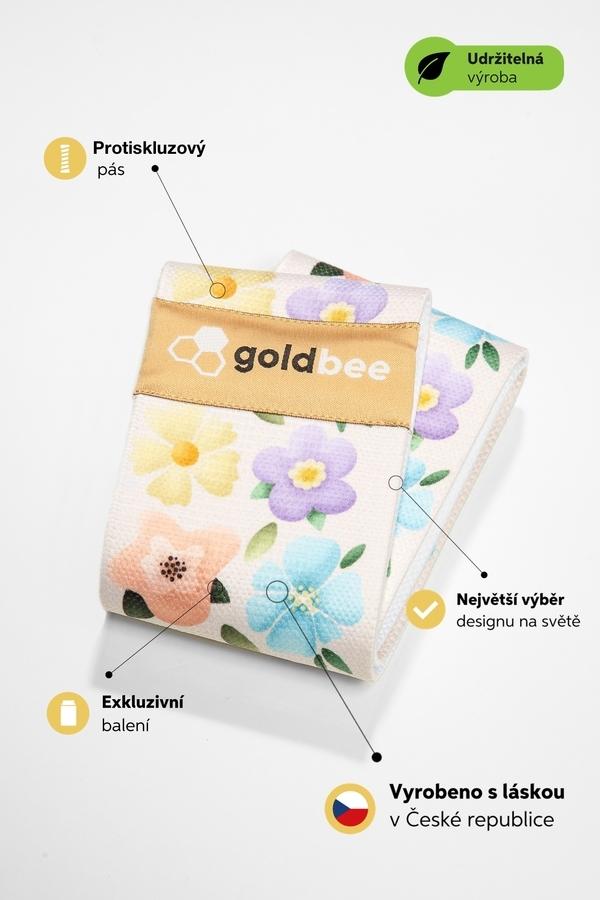 GoldBee BeBooty Květinová Zahrada, M - 2