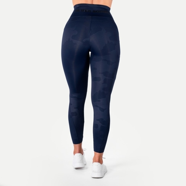 Better Bodies Legíny High Waist Dark Navy, M - 2