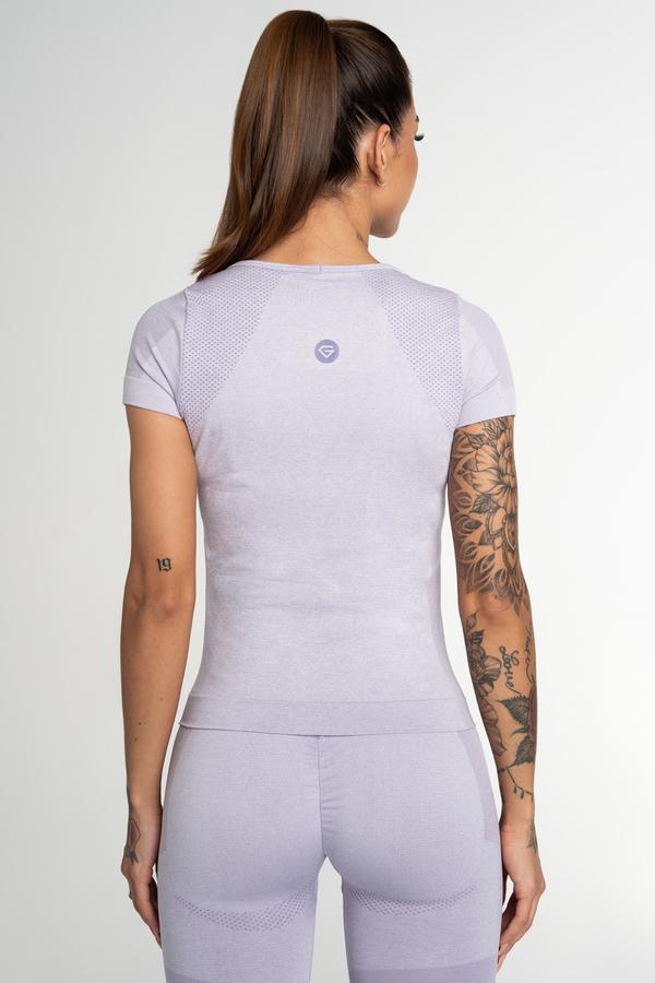 Gym Glamour Tričko Bezšvíkové Fusion Lavender - 2