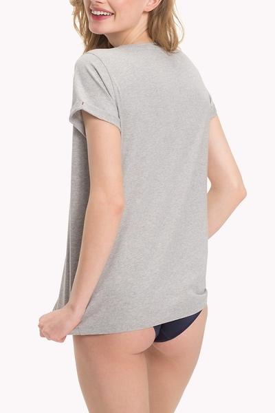 Tommy Hilfiger Women's  Pyjama Top šedá, XS - 2