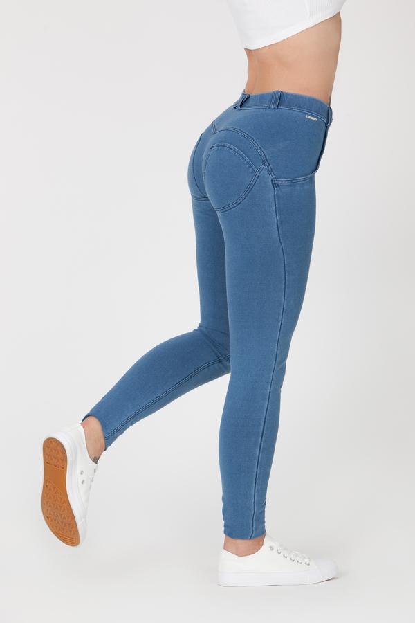 Boost Jeans Mid Waist Light Blue Predobjednávka, L - 2