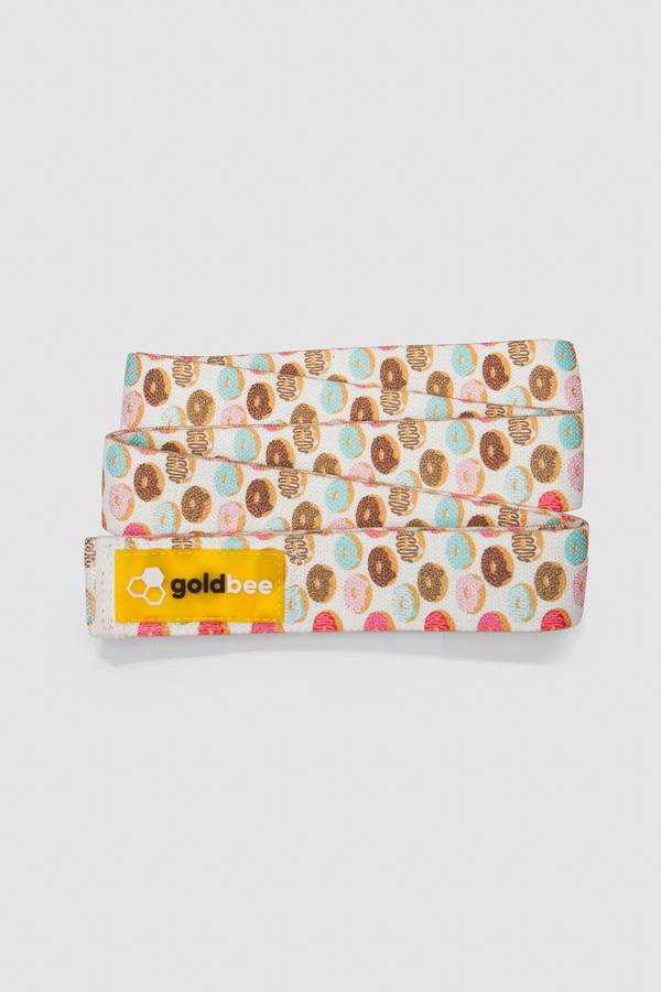 GoldBee Textilná Odporová Guma Dlhá - Donuts - 2