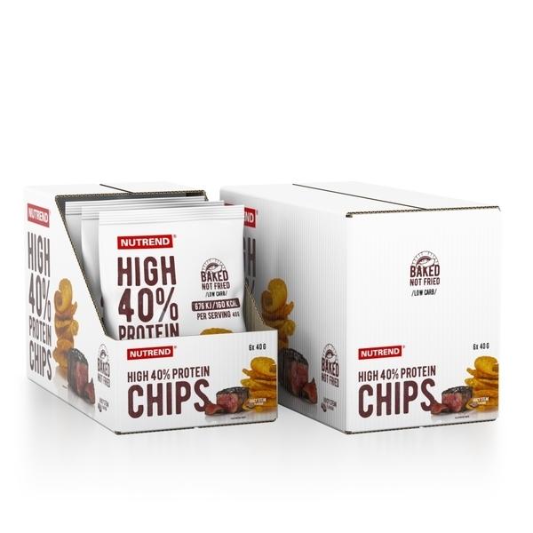 Nutrend Proteínové Chipsy Juicy Steak - 2
