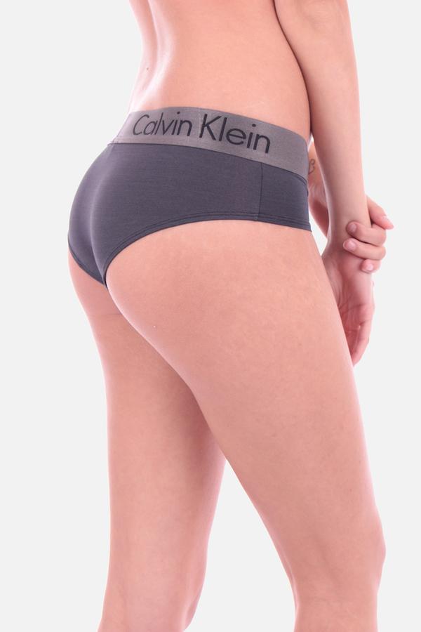 Calvin Klein Hipster Nohavičky Dual Tone Grey - 2