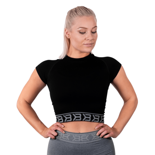 Better Bodies Tričko Sugar Hill Tee Black - 2