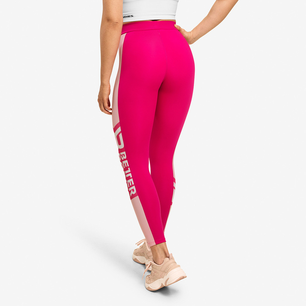 Better Bodies Legíny Chrystie Hot Pink, S - 2