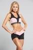 Kraťasky Gym Glamour Black & Pink - 2/3