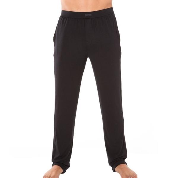 Calvin Klein Pánske Nohavice Na Doma Čierne, L - 2