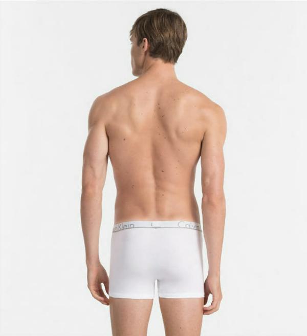 Calvin Klein Boxerky ID White, M - 2